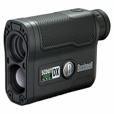 Bushnell Scout DX 1000 ARC 6x Magnification 1000 Yard Laser Rangefinder Black