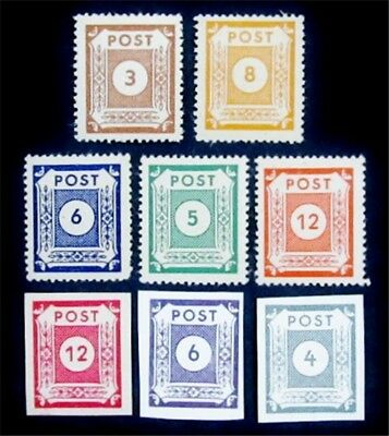 nystamps Germany Local Post Stamp Most Mint OG NH Unlisted Rare
