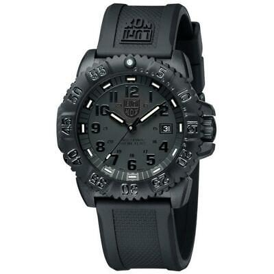Luminox Watch Navy Seal Mens Swiss Colormark Blackout 3051-BO AUTHORIZED DEALER