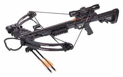 NEW Crosman CenterPoint Sniper 370 Black Crossbow Package- AXCS185BK
