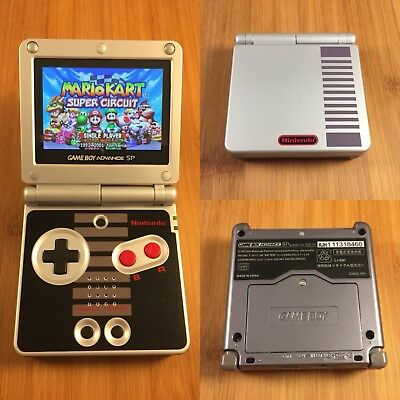 THE BEST Nintendo Game Boy Advance SP GBA - NES Edition -AGS-101