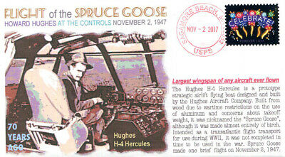 COVERSCAPE computer generated 70th anniversary Flight of the Spruce Goose cover