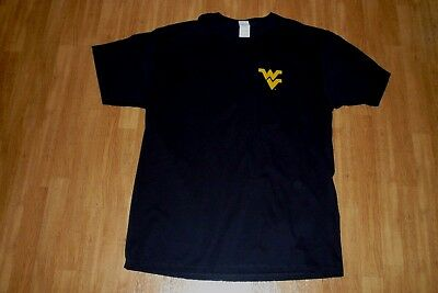 Coca-Cola COKE ZERO March Madness West Virginia Mountaineers T-Shirt Black XL