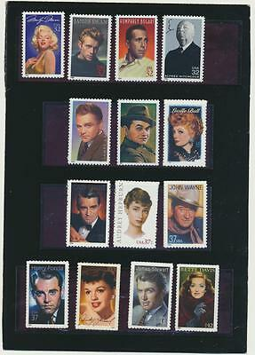 Legends of Hollywood Collection of 14 Mint NH USA Commemoratives Save Big Now