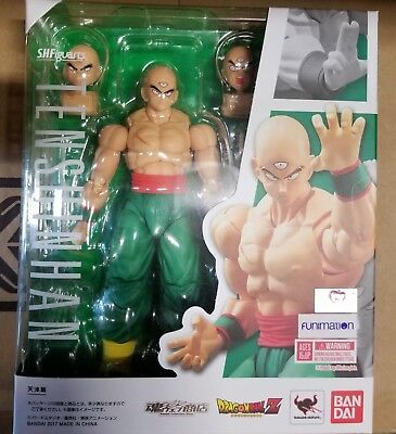 S-H Figuarts Tien Shinhan Dragon Ball Z Action Figure Bandai AUTHENTIC IN STOCK