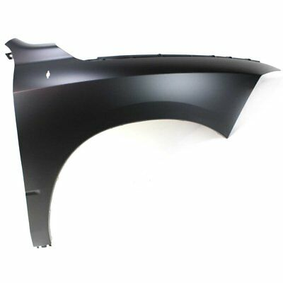 Fender For 2011-2017 Ram 1500 Front Right Primed Steel w Emblem Provision CAPA