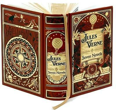 Jules Verne Seven Novels Leatherbound Classics