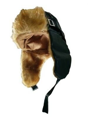 Aviator Hat With Flaps Amelia Earhart Costume Cap Airplane Bomber Pilot Fighter