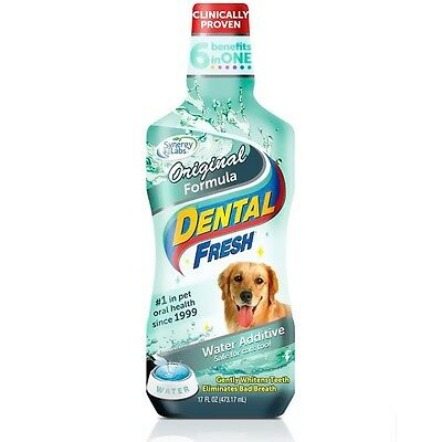 Dental Fresh Original Formula Water Additive for Dogs 17 fl oz