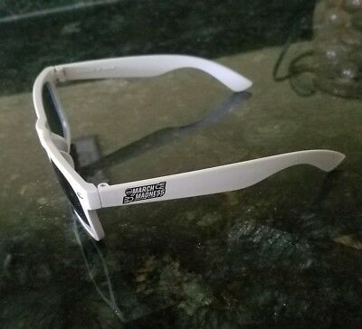 March Madness Final Four Basketball  Promotional White Sunglasses New Rare Retro