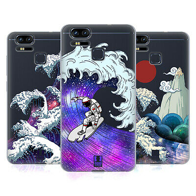 HEAD CASE DESIGNS GALAXY WAVES SOFT GEL CASE FOR ASUS ZENFONE PHONES
