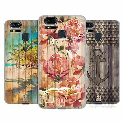 HEAD CASE DESIGNS MIX WOOD PRINTS SOFT GEL CASE FOR ASUS ZENFONE PHONES