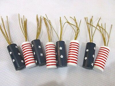 Patriotic 4th Of July Firecracker Bowl Filler Table Scatter Decorations 8