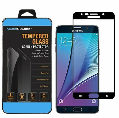 MagicGuardz For Samsung Galaxy Note 5 FULL COVER Tempered Glass Screen Protector