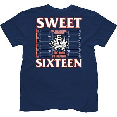 Syracuse Orange The Victory 2016 NCAA Mens Sweet 16 T-Shirt - Navy