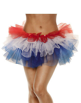 Fourth Of July Womens Adult Patriotic Holiday Costume Tutu-Os