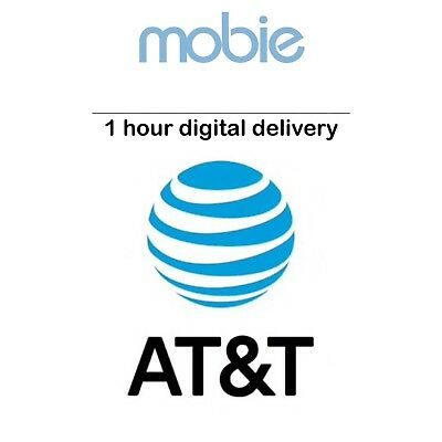 AT-T Prepaid Number for Port - 1 HOUR DIGITAL DELIVERY - Phone Numbers