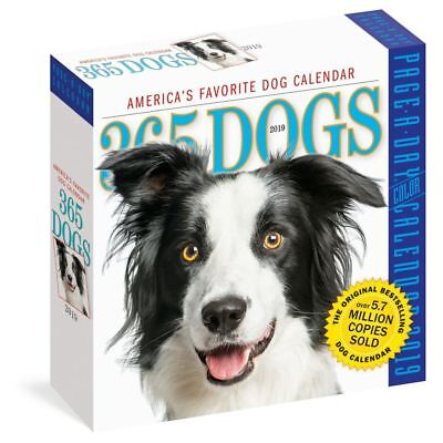365 Dogs Desk Calendar More Dogs by Workman Publishing