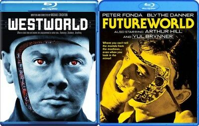 WESTWORLD - FUTUREWORLD New Sealed Blu-ray Both Films
