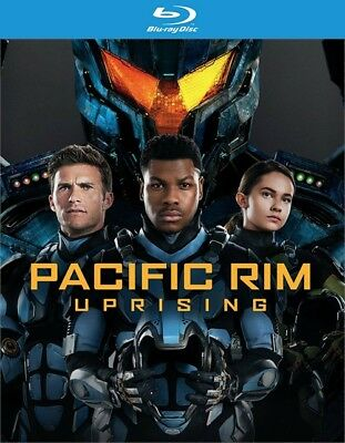 Pacific Rim Uprising Blu-ray Disc ONLY 2018