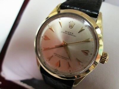 Rolex Oyster Perpetual 1024 Superlative Chronometer Officially Certified Watch