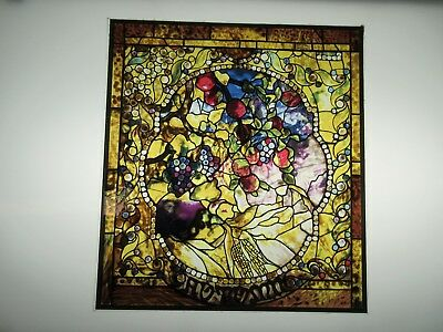 Glassmasters  Louis C- Tiffany Autumn 7 13 x 8 125 inches