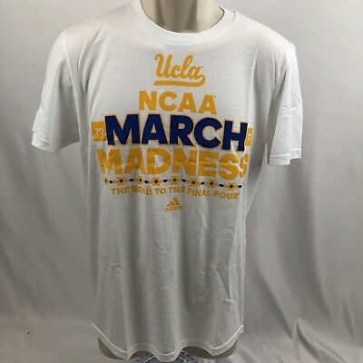 NEW Adidas UCLA Bruins 2017 NCAA March Madness Bracket T Shirt Men's Small S