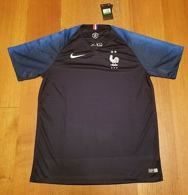 France NIKE Jersey Dri-Fit 2 Stars  Mens Size XL World Cup Soccer Champion