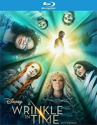 A Wrinkle in Time Blu-ray Disc ONLY 2018 - Disney