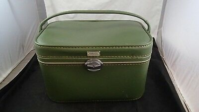 Vintage Amelia Earhart Train Case Cosmetic Make Up Carry On Luggage
