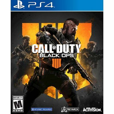Call of Duty Black Ops 4 for Sony PlayStation 4 Brand New