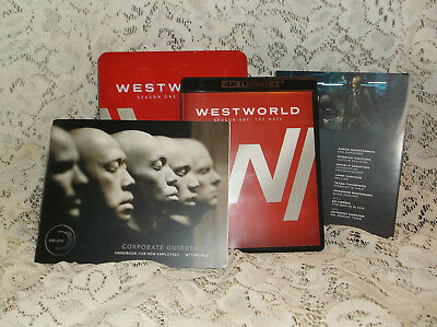 Westworld Season 1 The Maze 4K  Blu Ray UHD Limited Edition with Tin Complete