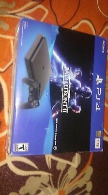 Sony PlayStation 4 Slim STAR WARS Battlefront II Bundle 1TB Black Console