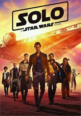 Solo A Star Wars Story DVD 2018