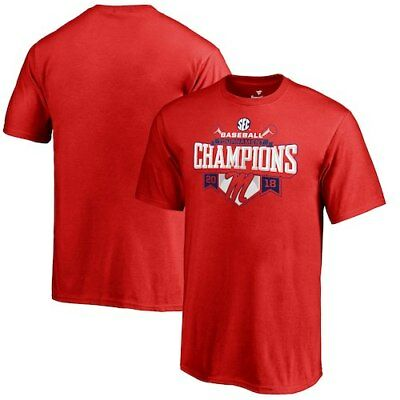 Ole Miss Rebels Fanatics Branded Youth 2018 SEC Baseball Tournament Champions