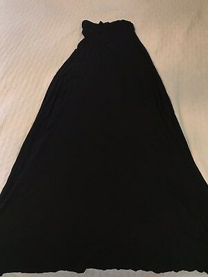 Wet Seal Black Maxi Skirt In Size XS