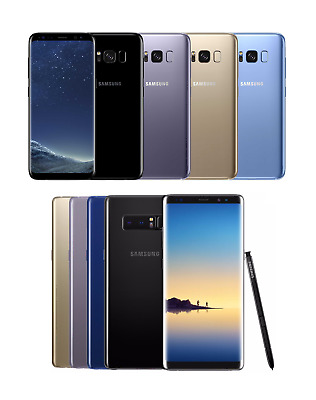 Samsung Galaxy S8 🌌 S8 Plus Note 8 📱 Verizon T-Mobile AT&T Android Smartphone