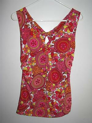 WET SEAL WOMENS STRETCHY  SLEEVELESS BLOUSE LARGE