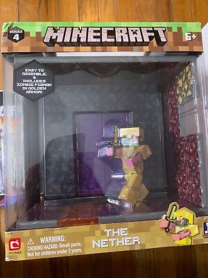 Minecraft The Nether Mojang Zombie Pigman new in box