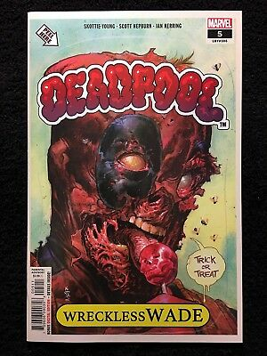 DEADPOOL 5 VOL 5 2018 SERIES NIC KLEIN COVER A GARBAGE PAIL KIDS COVER