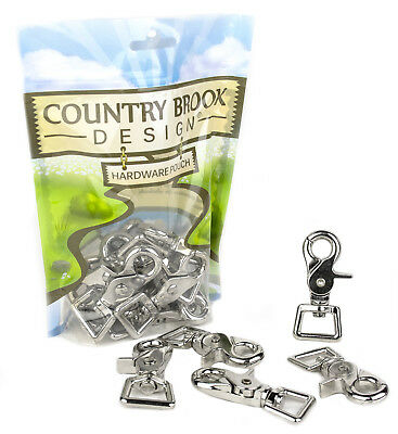 10 - Country Brook Design® 34 Inch Trigger Swivel Snap Hooks