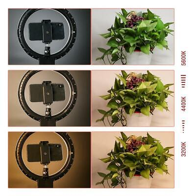 7 LED Ring Light Camera Photo 2800-5500K Dimmable LED Ring Lamp - Tripod