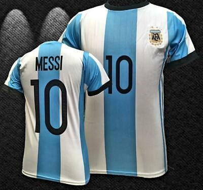 Argentina Home Messi World Cup Men Jersey 2018-2019