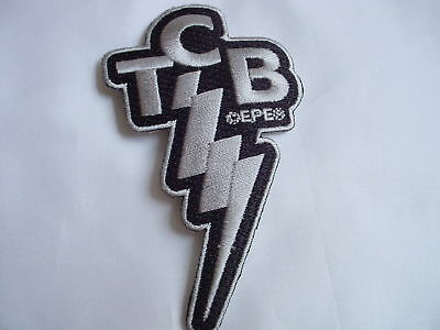 ELVIS PRESLEY  TCB Patch  New Iron On Patch