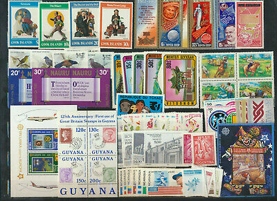 Mint Sets Collection Variety of countries and topicsOVER 100- Scott Cat value