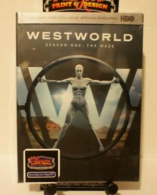 Westworld The Complete First Season NEW DVD 2017 FREE SHIPPING