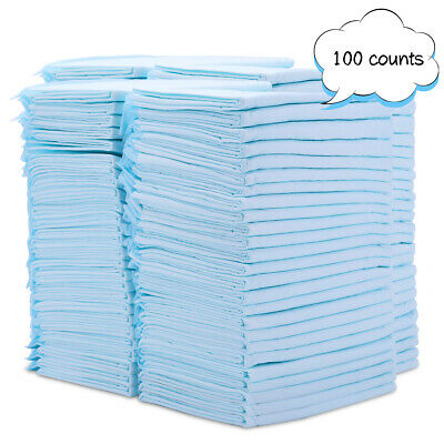 22x23 inch Pet Training and Puppy Pads Diaper Pad for Dogs  2050100 Count