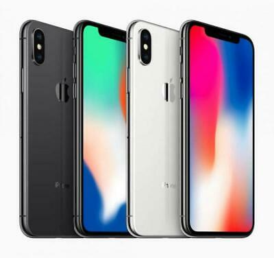 Apple iPhone X Factory GSM Unlocked AT-T  T-Mobile 64GB Excellent Condition