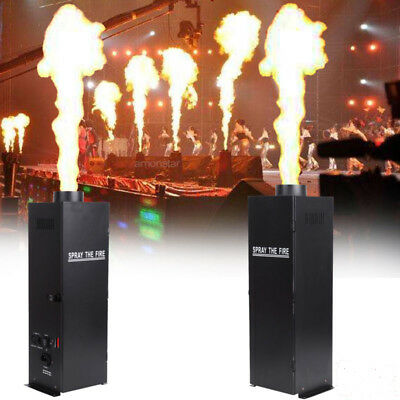 2X DMX Fire Thrower Stage Flame Effect Projector Machine Disco Stage Show Party