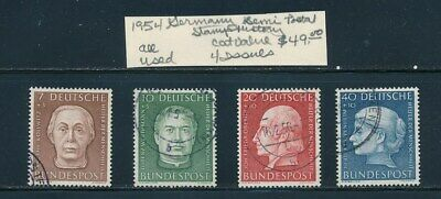 OWN PART OF GERMANY STAMP HISTORY 4 ISSUES  CAT VALUE 49-00  ALL STAMPS SHOWN